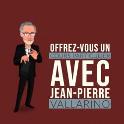 Cours particulier avec Jean-Pierre Vallarino